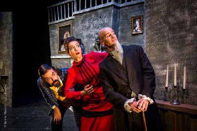 Foto promocional de la obra El fantasma de Canterville de la compañía Teatrasmagoria