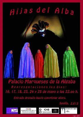 Teatro: Hijas del Alba en Palacio Marqueses de la Algaba Sevilla