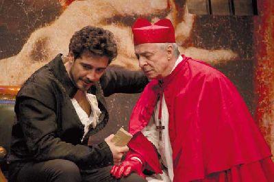 Teatro: Historia de un cuadro en el Teatro Lope de Vega de Sevilla