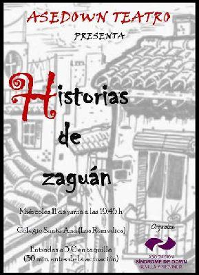Teatro: Historias de Zaguán por ASEDOWN en colegio Santa Ana