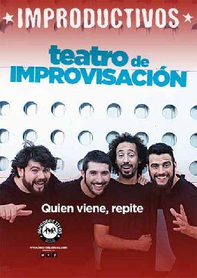 Teatro: Improductivos Show en Sala Holiday Sevilla (enero 2016)