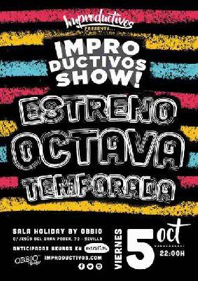 Improductivos Show en Sala Holiday Sevilla (temporada 2018-2019)