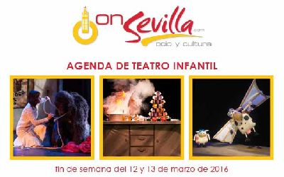 Teatro infantil en Sevilla fin de semana del 12 y 13 de marzo 2016