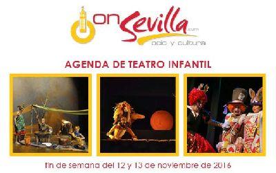 Teatro infantil en Sevilla fin de semana del 12 y 13 de noviembre 2016