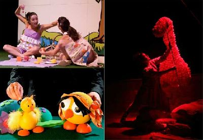 Teatro infantil en Sevilla, fin de semana 14 y 15 diciembre 2013