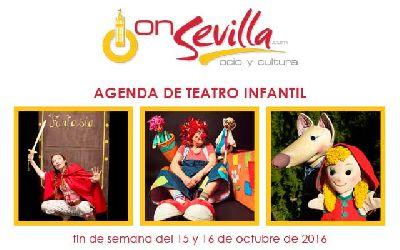 Teatro infantil en Sevilla fin de semana del 15 y 16 de octubre 2016
