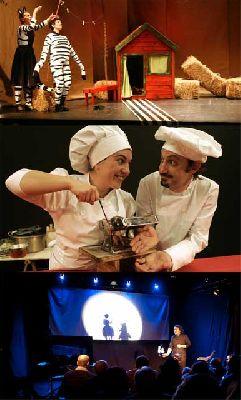 Teatro infantil en Sevilla, fin de semana 16 y 17 febrero 2013