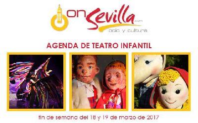 Teatro infantil en Sevilla fin de semana del 18 y 19 de marzo 2017