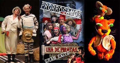 Teatro infantil en Sevilla, fin de semana del 1 y 2 febrero 2014