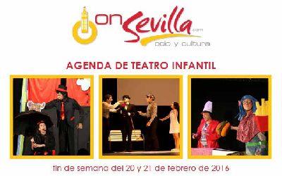 Teatro infantil en Sevilla fin de semana del 20 y 21 de febrero 2016