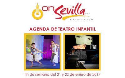 Teatro infantil en Sevilla fin de semana del 21 y 22 de enero 2017