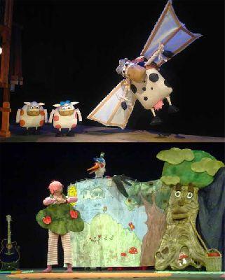 Teatro infantil en Sevilla fin de semana de 21 y 22 de febrero 2015