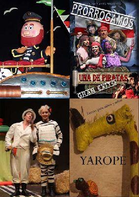 Teatro infantil en Sevilla fin de semana del 22 y 23 febrero 2014