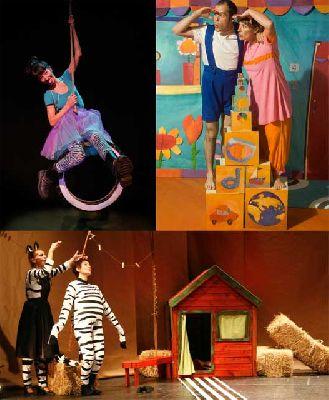 Teatro infantil en Sevilla, fin de semana del 23 y 24 febrero 2013