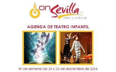 Teatro infantil en Sevilla fin de semana del 24 y 25 de septiembre 2016