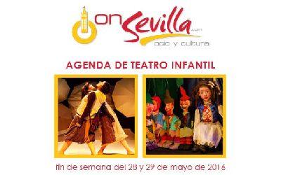 Teatro infantil en Sevilla fin de semana del 28 y 29 de mayo 2016