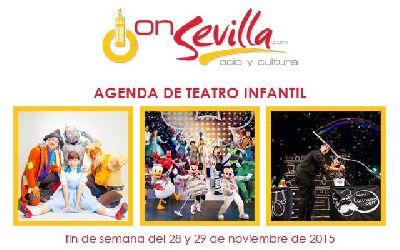 Teatro infantil en Sevilla fin de semana del 28 y 29 de noviembre 2015