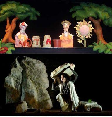 Teatro infantil en Sevilla, fin de semana del 5 al 7 de abril 2013