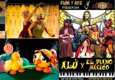 Teatro infantil en Sevilla fin de semana de 5 y 6 de abril 2014