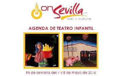 Teatro infantil en Sevilla fin de semana del 7 y 8 de mayo 2016