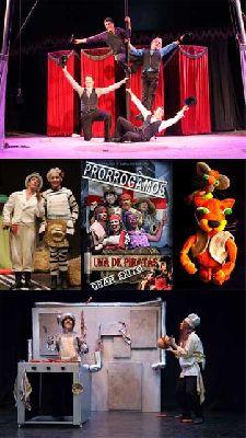 Teatro infantil en Sevilla, fin de semana del 8 y 9 febrero 2014