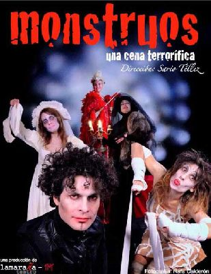 Teatro infantil: Monstruos, una cena terrorífica en TNT-Atalaya