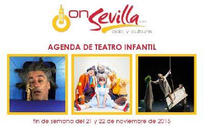 Teatro infantil en Sevilla fin de semana del 21 y 22 de noviembre 2015