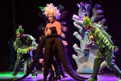 Foto promocional de La Sirenita, un musical bajo el mar por EscapARTEatro