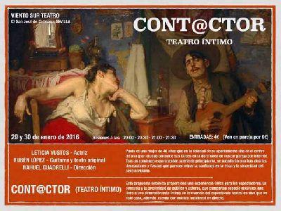 Teatro: Cont@ctor en Viento Sur Teatro Sevilla