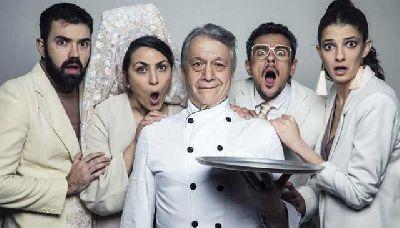 Foto promocional de la obra de teatro La boda de tus muertos de la compañía Sieteatro Producciones