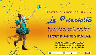 Teatro infantil: La Principita en el Teatro Central de Sevilla 2018-2019