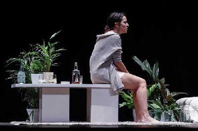 Foto promocional de Las plantas con Rosana Barranco