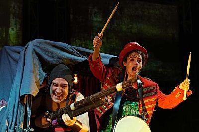 Foto de la obra La Strada dirigida por Mario Gas