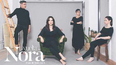 Cartel de la obra La vuelta de Nora con Aitana Sánchez Gijón