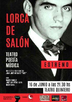 Teatro: Lorca de salón en el Teatro Quintero de Sevilla