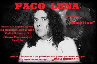 Teatro: Lunático en el Rincón del Búho de Sevilla