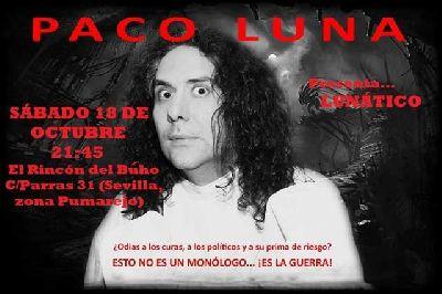 Teatro: Lunático en la Gallina en el Diván y Rincón del Búho