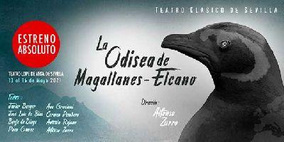 Cartel de la obra La odisea de Magallanes - Elcano