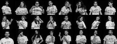 Foto de la obra de teatro musical Mamma Mia! ¡Qué musical! por Grupo Teatral Farándula Don Bosco