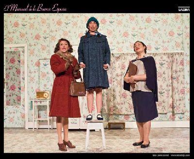 Teatro: El manual de la buena esposa en el Lope de Vega Sevilla