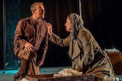 Foto de la obra de teatro Medea, la extranjera de la compañía Teatro del Norte