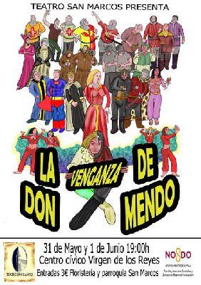 Teatro: La venganza de don Mendo en el CC Virgen de los Reyes