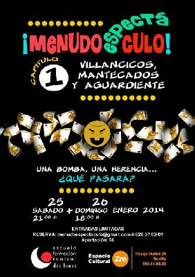Teatro: ¡Menudo Espectáculo! en el Espacio Cultural ZM de Sevilla