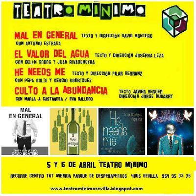 Teatro Mínimo y Dancemotion (danza) en Centro TNT-Atalaya Sevilla