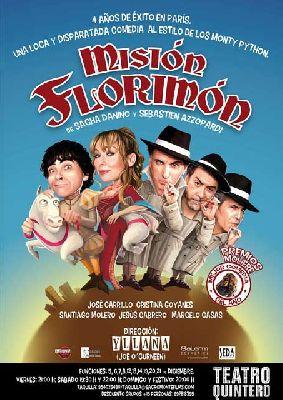 Teatro: Misión Florimón en el Teatro Quintero de Sevilla