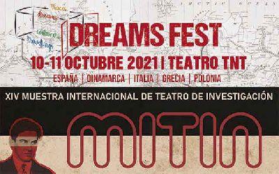 Cartel de la XIV Muestra Internacional de Teatro de Investigación (MITIN) en Sevilla