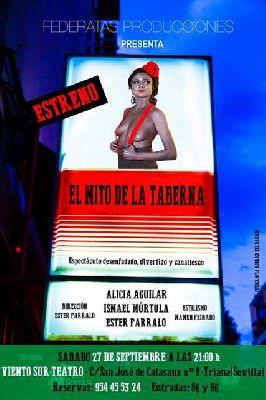 Teatro: El mito de la taberna en Viento Sur Teatro Sevilla