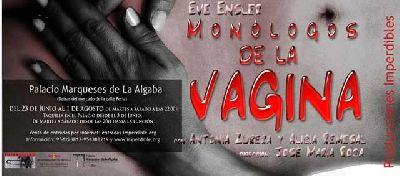 Teatro: Monólogos de la Vagina en el Palacio Marqueses Algaba Sevilla