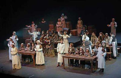 Teatro infantil: Oliver Twist en el Teatro Central de Sevilla 2015