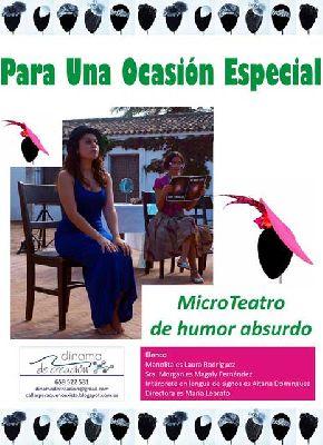 Microteatro: Para una ocasión especial en La Casa Ensamblá de Sevilla